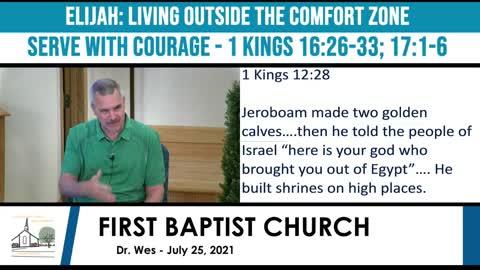 Adult Sunday School - July 25, 2021