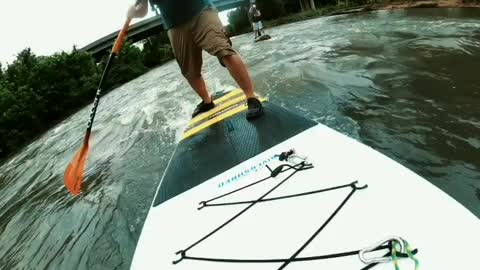 Play on the SUP