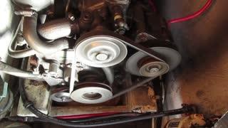 Beneteau first 35 engine running