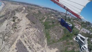 Torrey Pines Hang Gliding, San Diego CA July 2019