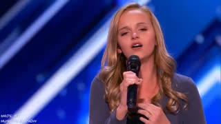 you must watch this talented girl, or what a passionate voice
