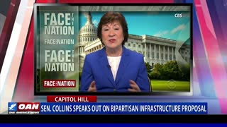 Sen. Collins speaks out on bipartisan infrastructure proposal