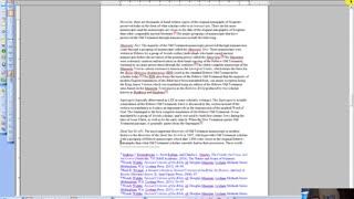 Essential Bible Doctrines (Part 1: Bibliology)