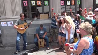 Shooting A Music Video At CMA Fest 2015   2 Steel Girls