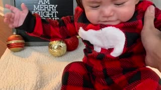 What babies really think about holiday pictures