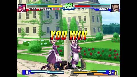 Hisui, Kohaku & Meh Hisui Me vs Shimo