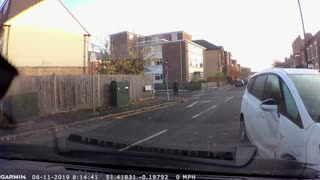 Dashcam Catches Accident and Furious Driver