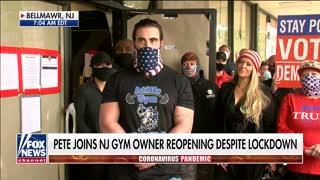 NJ gym reopens amid coronavirus lockdown
