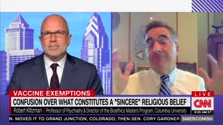 CNN Expert Wants Biden Admin To Weed Out Fake Religious Vaccine Exemptions