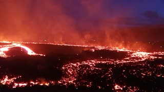 Volcanic eruption in Iceland results in jaw-dropping images