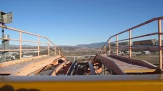 descent on the largest roller coaster in the world would have courage? 😰
