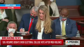 Kelly Loeffler WITHDRAWS From Here Objection to Election Results