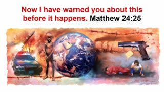 The Sign of Your Coming, Sukkot 2020, Part Two