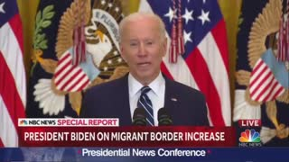 Biden SNAPS At Reporter For Asking About Border Conditions