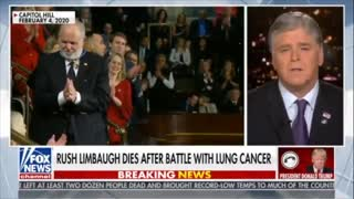 """""""Irreplaceable"""" - Trump and Hannity Remember Rush Limbaugh"""