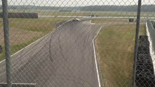 Trans Am Car Coming Back After Spin at Brainerd