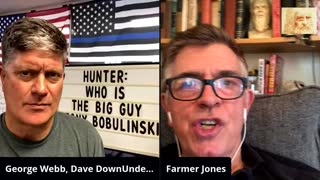 Q channel hunting and lawsuit with George Webb & Farmer Jones