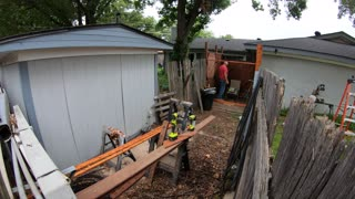 Building a Fence Time Lapse