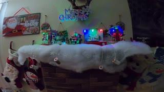 Awesome Handmade Christmas Chimney Decoration