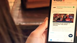 OAN launches FREETALK45 free speech
