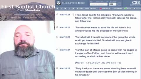 Morning Devotion With Mike - May 26, 2021