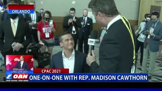 One-on-One with Rep. Madison Cawthorn at CPAC