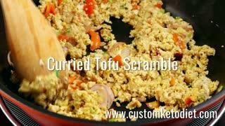 NEW Curried Tofu Scramble Recipe