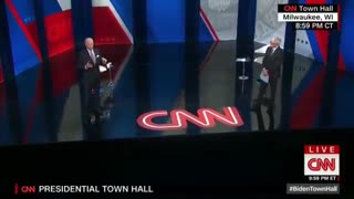 Joe Biden Says China is a Victim at Town Hall