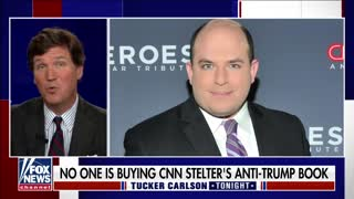 Tucker Carlson HUMILIATES Loser Brian Stelter for Nonexistent Book Sales, Collapsing Ratings