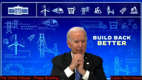 President Biden Discusses the Importance of the Bipartisan Infrastructure Investment & Jobs Act