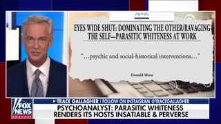 Tucker Carlson reacts Doctor compares White people to parasites
