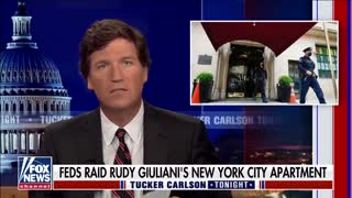 Rudy Giuliani's first interview since Biden's state police raided his home.