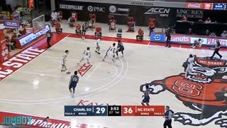Basketball player pukes on opponent