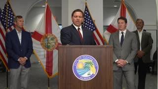 Governor DeSantis Hits Back at Joke Biden
