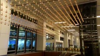 Time-Lapse | Kinetic Rain - World's largest kinetic art sculpture @ Changi Airport Terminal 1