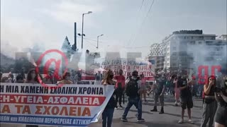 makeleio.gr - Μαθητικό συλλαλητήριο για την απαγόρευση της μάσκας στα σχολεία pt2