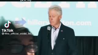 Bill Clinton is a creep