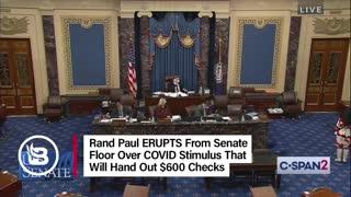 Rand Paul rips the stimulus bill