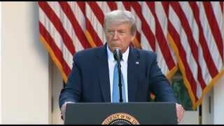 Trump responds to questions about Wuhan lab