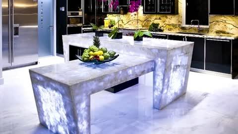Best Designer countertops for kitchen - unusual kitchen countertops