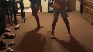 My kids dancing