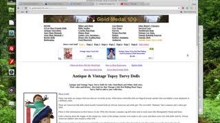 Antique & Vintage Topsy Turvy Dolls