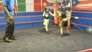 First Time sparring