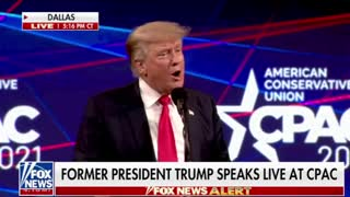 President Donald Trump Speaks at CPAC 2021 [FULL] 7-11-21