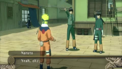 VOD125 NARUTO: Ultimate Ninja STORM+First Class Escape: The Train of Thought