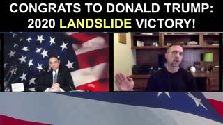To The SCAMMING Democrats: Congrats to Donald Trump on his 2020 Landslide Victory!