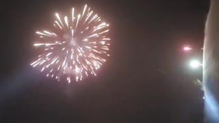 Mont-Tremblant Mountain - Fireworks
