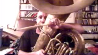 Henry Emphrey playing Rock and Funk on the Tuba