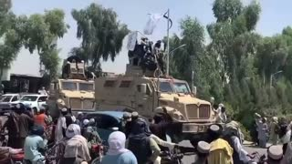 WATCH: The Taliban Is Holding Military Parades With US Equipment