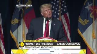Former President Trump Teases 2024 Return